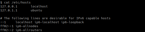List Current Host or DNS to IP Address Resolutions
