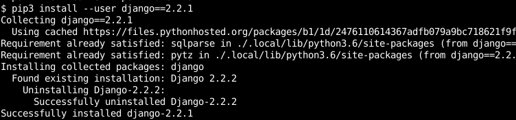 Install Specific Package Version with pip Command